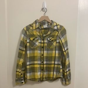 O'Neill yellow flannel
